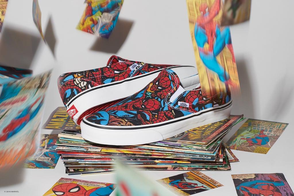 e42070e23b29d0 Vans x Marvel Spider-Man Classic Slip-On
