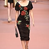 At Dolce & Gabbana, Gigi Donned a Crown of Roses
