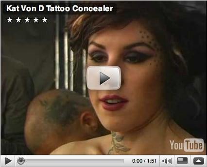 See Kat Von D Tattoo-Free