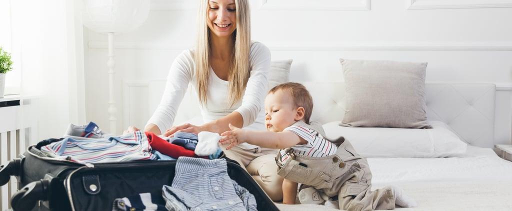 قائمة بأساسيات السفر مع طفل حديث الولادة