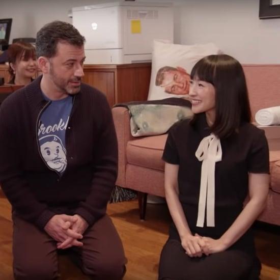 Marie Kondo Cleans Jimmy Kimmel's Office Video