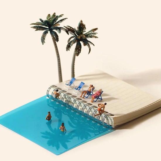 Artist Creates Miniature Calendar Dioramas
