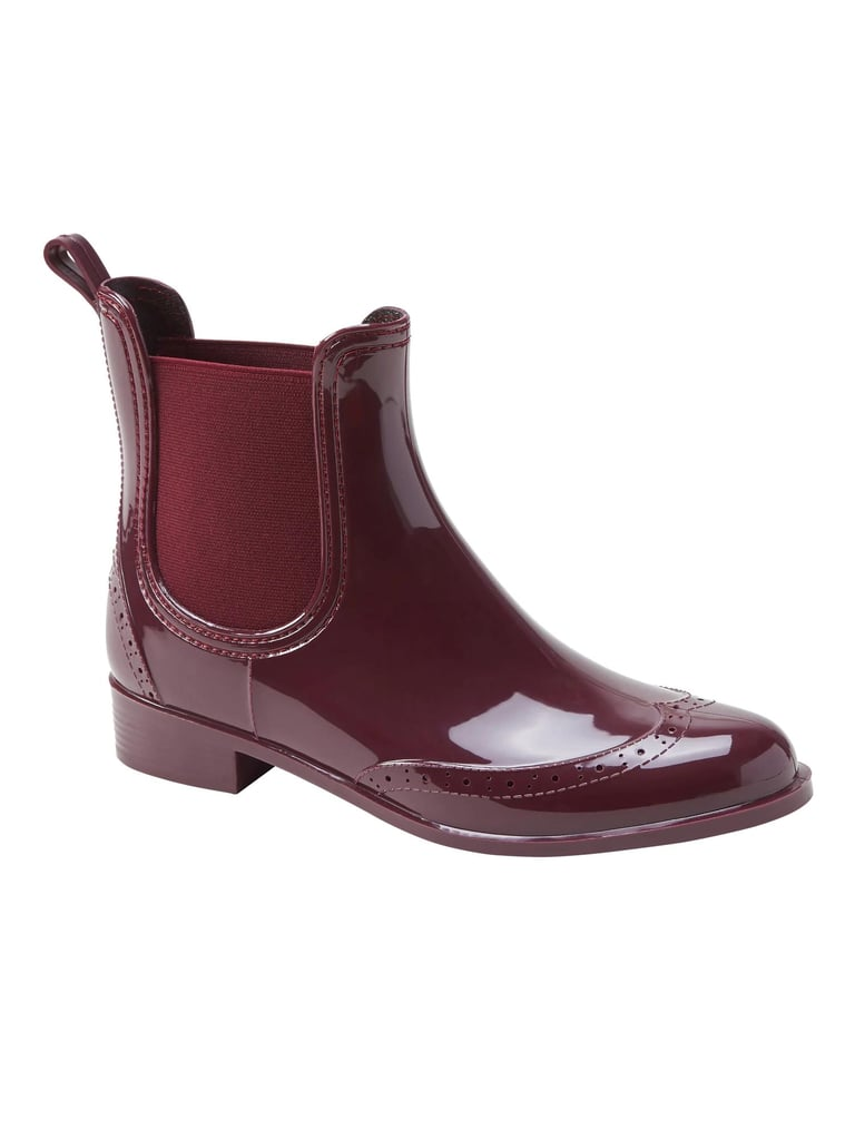Brogue Chelsea Rainboot
