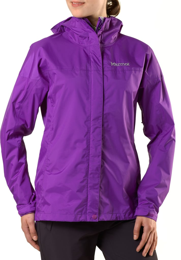 When Mother Nature can throw anything at you, it's always best to be prepared, which is where the Marmot PreCip Rain Jacket ($99) comes in. The lightweight, compressible jacket will barely take up any room in your backpack, and if conditions get chilly or wet, you'll be ready to roll!