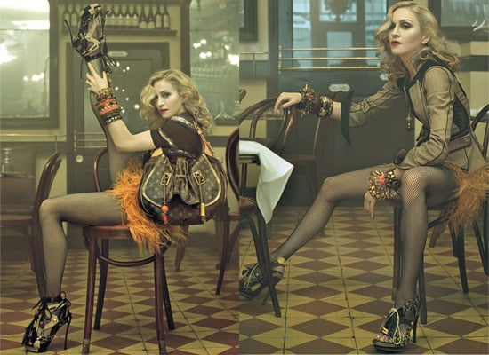 Photos of Madonna for Louis Vuitton Spring 2009