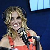 Julia and her pearly whites made a guest appearance on SiriusXM's The Jess Cagle Show in 2019.