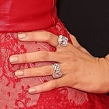 Blake Often Wears Her Engagement Ring With Other Sparkly Jewels