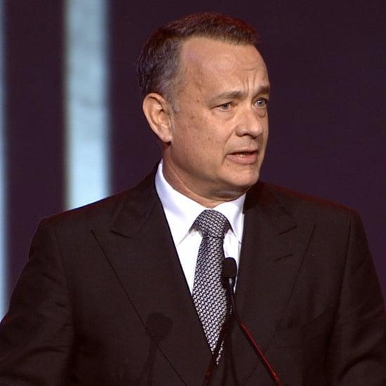 Tom Hanks Speech at the Palm Springs Film Fest | Video