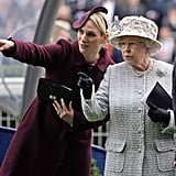 Zara Tindall and Queen Elizabeth enjoyed a race during the Royal Ascot in 2012.