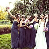 """No matter what the bride will always try to convince you that you can """"totally wear your bridesmaid dress again!"""" While it may be a stretch for some dresses, most of the time it's a lot easier than you think — and POPSUGAR Fashion is showing you three chic ways to wear it well after the big day."""