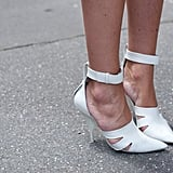 These Alexander Wang heels would lend cool-girl style prowess to just about anything.