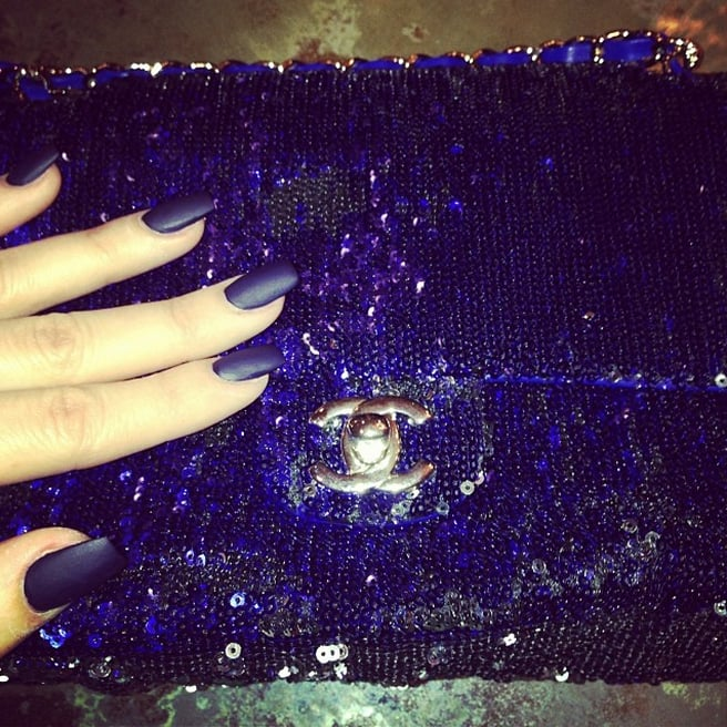 Khloé Kardashian\'s Nails | POPSUGAR Beauty