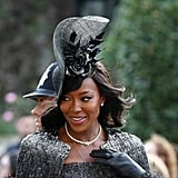 Naomi Campbell Dress at Princess Eugenie's Wedding 2018