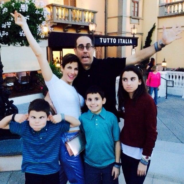 The Seinfeld family hit Walt Disney World over Spring break. Source: Instagram user jessseinfeld