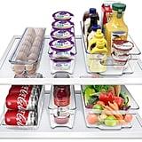 Sorbus Fridge Bins and Freezer Bins Refrigerator Organiser