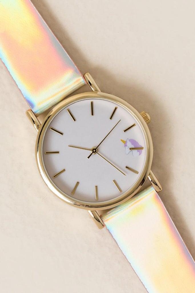 Charlie Iridescent Unicorn Watch