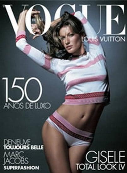Gisele Bundchen does Vogue Brazil may 09