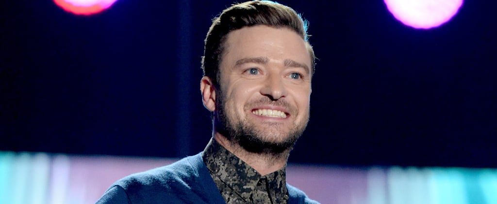 """Justin Timberlake Just Gave the Most Inspiring Speech: """"I Hope My Son Watches This One Day"""""""