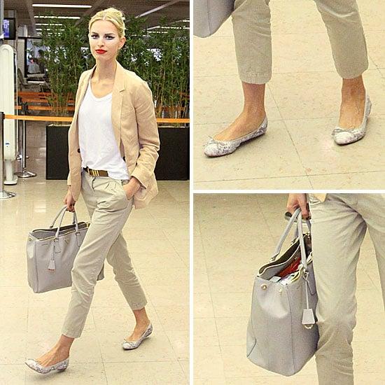 Karolina Kurkova at Haute Couture Fashion Week