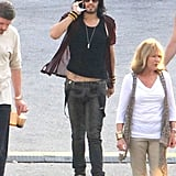 Alec Baldwin, Julianne Hough, Russell Brand Pictures on the Set of Rock of Ages