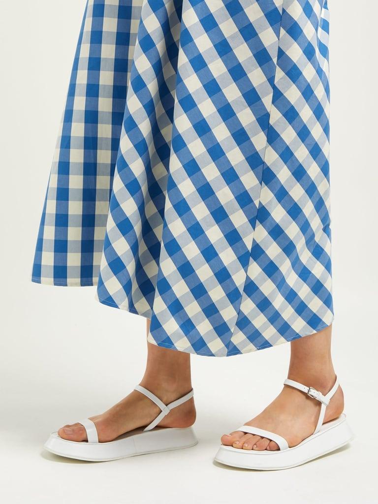 e09d2b4e20 Jil Sander Leather Flatform Sandals | Best Comfortable Casual ...