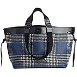 Isabel Marant Wardy Plaid Tote