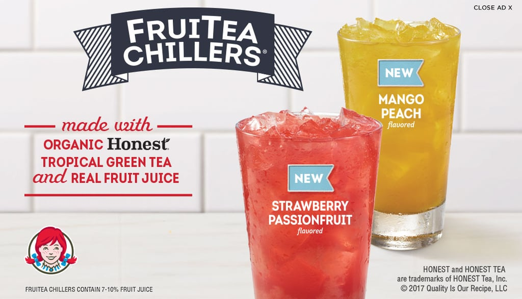 Learn more about Wendy's FruiTea Chillers, available for a limited time this summer!