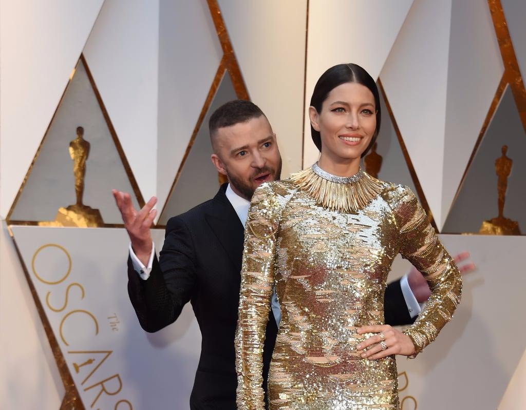 Justin Timberlake Funny Moments at the 2017 Oscars