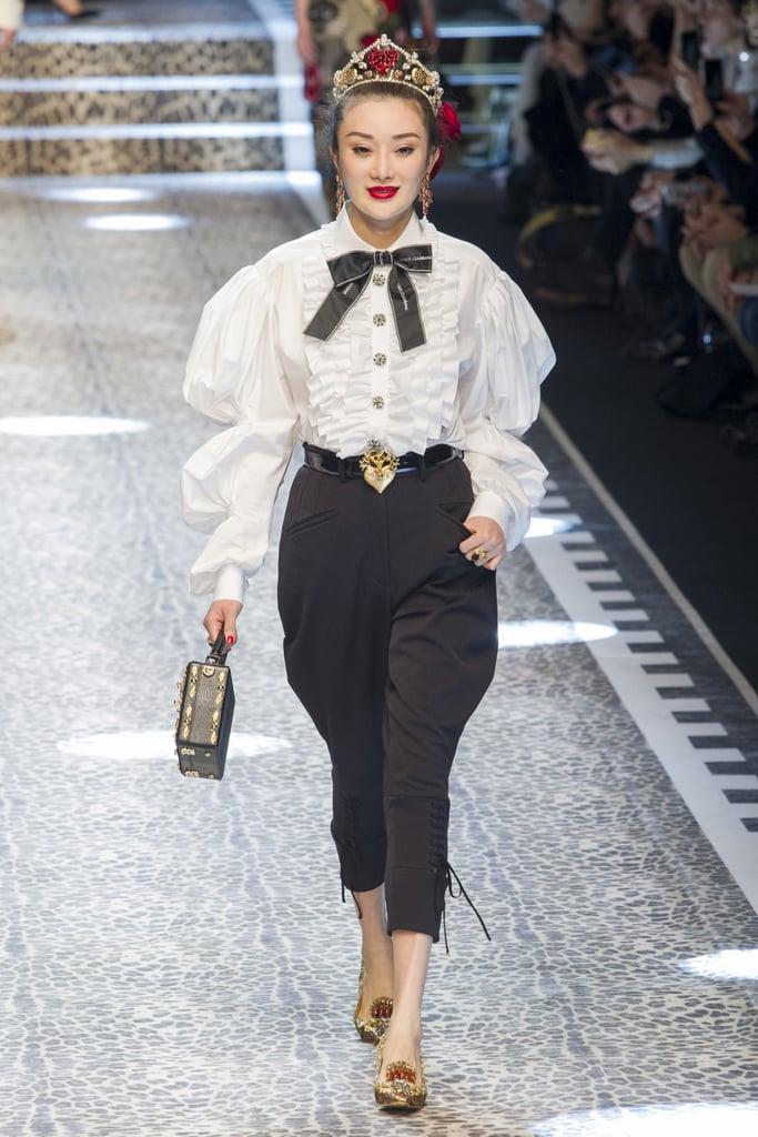 Dolce & Gabbana Fall 2017 Runway