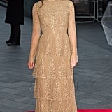 Keira Pulls Off Tiers of Valentino Couture Like a Pro