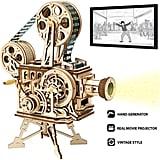 Rokr Vitascope 3D Puzzle Vintage Film Projector