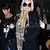 Jessica Simpson at the airport.