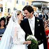 Prince Amedeo of Belgium and Elisabetta Maria Rosboch von Wolkenstein