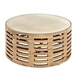 Wood Slat Coffee Table