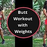 GymRa Weighted Butt Workout