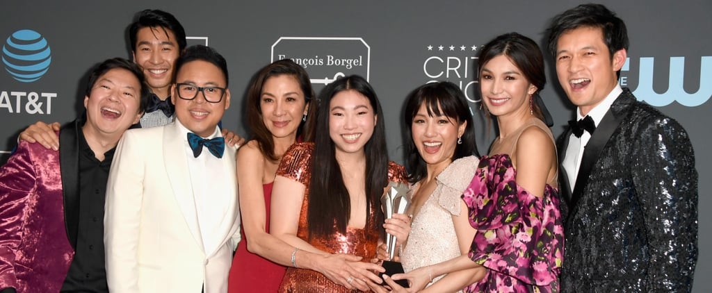 Crazy Rich Asians Cast at the 2019 Critics' Choice Awards