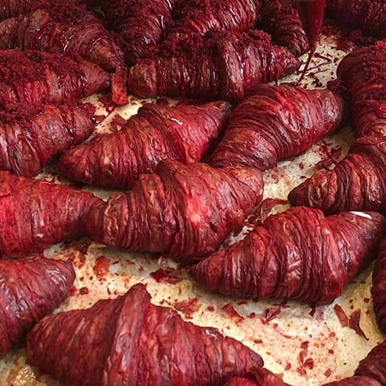 Red Velvet Croissants in NYC