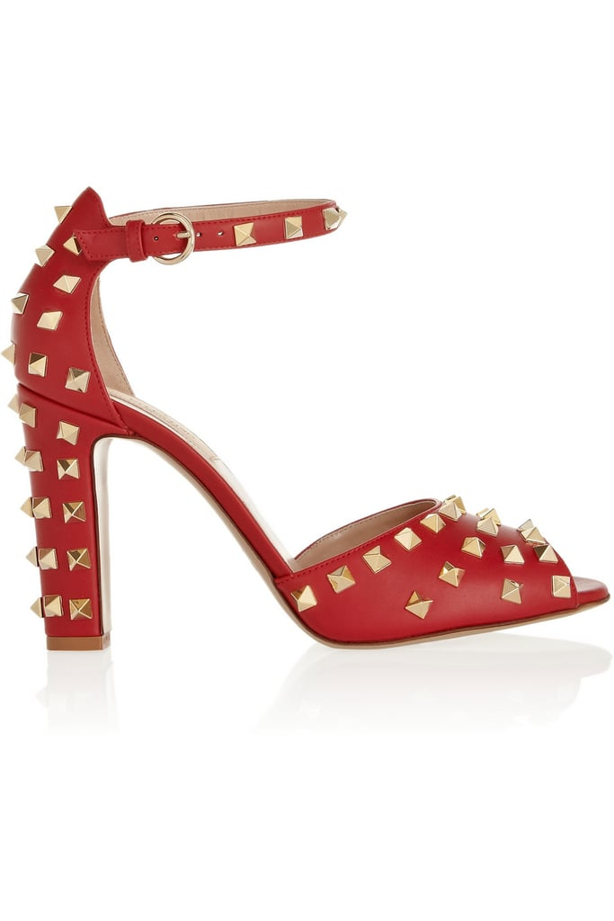 Valentino Studded Leather Sandals ($548, originally $1,095)