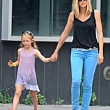 Heidi Klum and Her Kids Have a Day Out in NYC With Grandma
