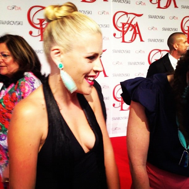 Busy Philipps was on hand for the CFDA Awards in NYC.  Source: Instagram user popsugar