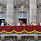 A Balcony Appearance at Buckingham Palace