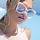 Forever 21 Melt Marble Square Sunglasses