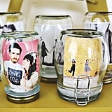 Placed in Mason Jars