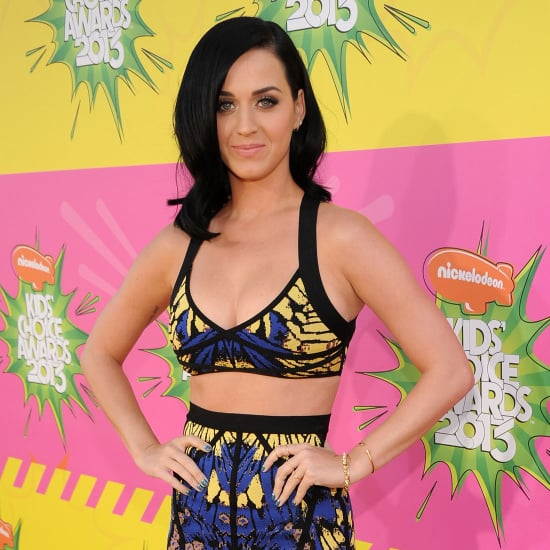 Style: Katy Perry In Herve Leger At 2013 Kids' Choice Awards
