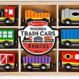 Melissa & Doug Train Cars Set
