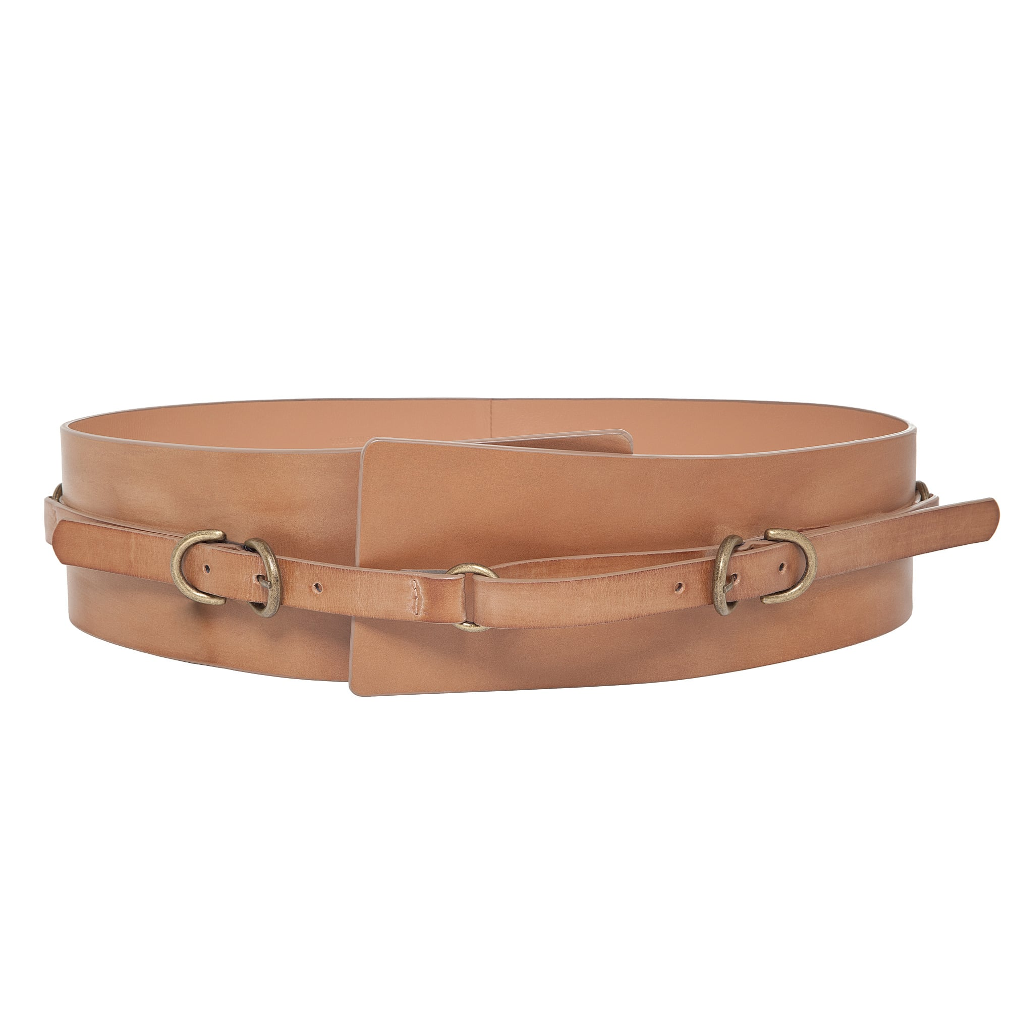 Max Studio Leather Belt