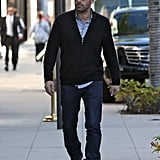 Ben Affleck strolled in Beverly Hills.