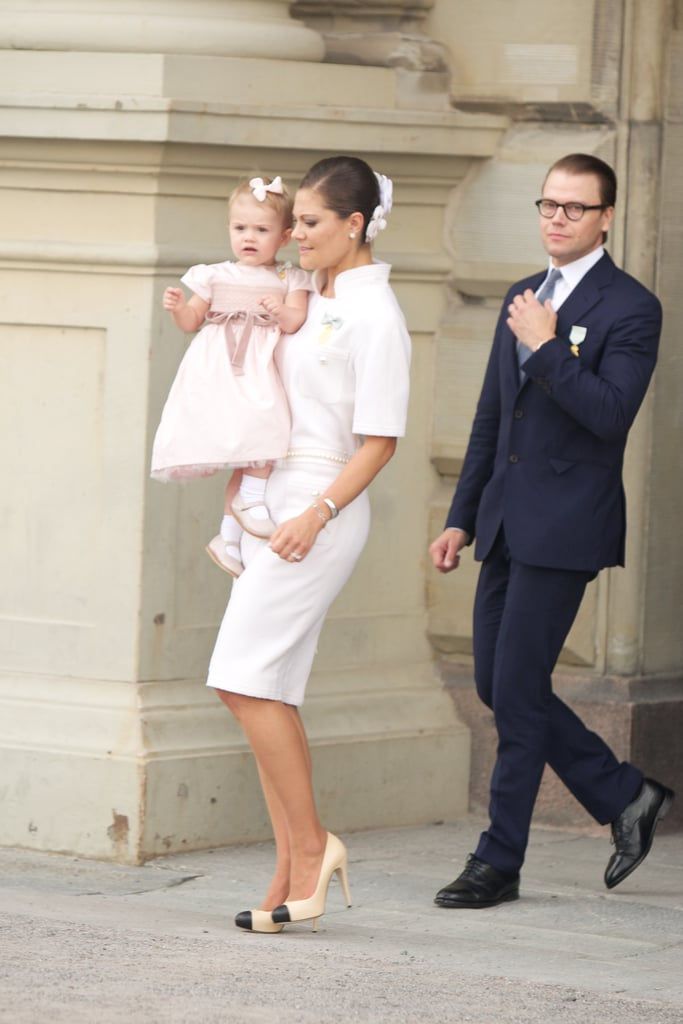 When Princess Estelle Rocked a Bow, the Duchess Complemented Her Look With a Floral Headpiece