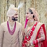 Sonam Kapoor's Anuradha Vakil Wedding Ensemble