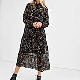 New Look Chiffon Smock Dress